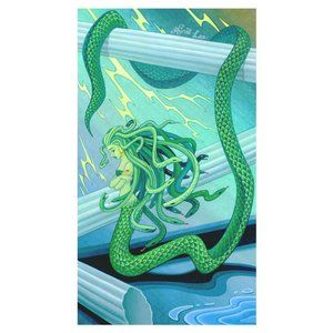Medusa illustration art print
